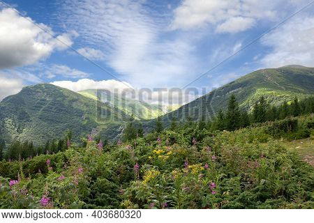 The River Prut (pruth, Or Prout) Originates On The Slope Of Mount Hoverla, In The Carpathian Mountai