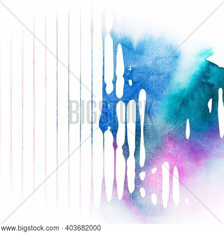 Art portrait of young beautiful woman, graphic and watercolor. Modern abstract style is very useable for wall interior design, landing page, website, banner, poster, event, covers.