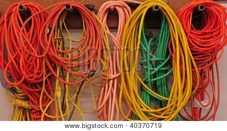 Heavy duty electrical extension cords
