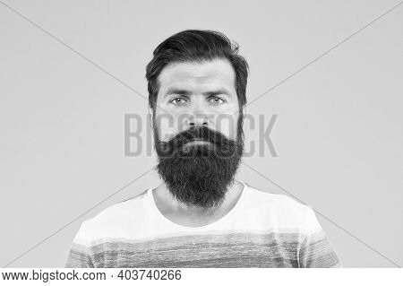 I Am Perfect. Barber Tips Maintain Beard. Stylish Beard And Mustache Care. Hipster Appearance. Beard