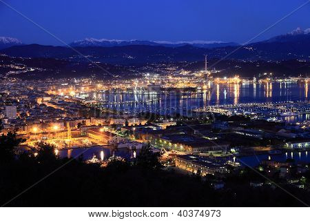 La Spezia on the Ligurian Coast, Italy