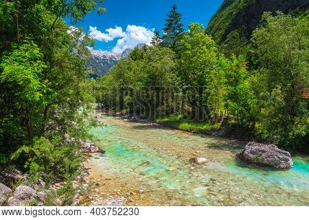 Stunning Rafting And Kayaking Location In Europe. Fantastic Recreation Place And Kayaking Destinatio