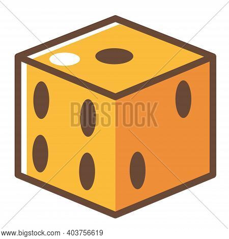 Game Dice With Holes, Square Cubes For Playing