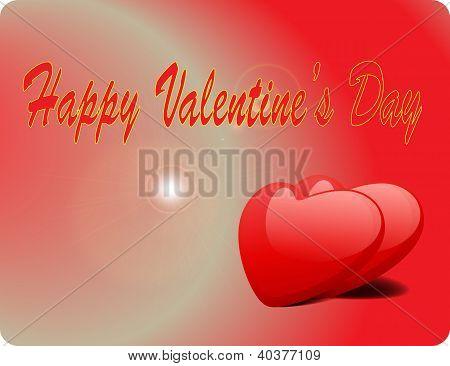 Valentine Love Card - Happy Valentine Day