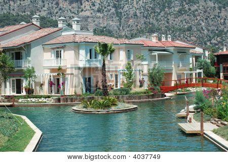 House Near A Water