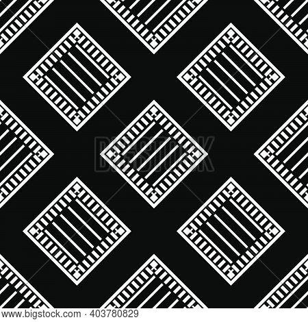 Seamless Background Of Scottish Fabric.