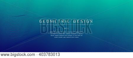 Blue Dynamic Wave. Fluid Abstract Layout. Vivid Futuristic Lines. Dynamic Wave. Vibrant Texture. Flo