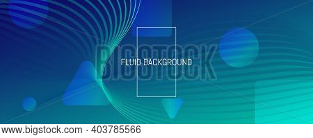 Dark Dynamic Wave. Flow Abstract Concept. Color Geometric Shapes. Dynamic Wave. Memphis Pattern. Flu