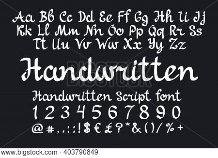 Handwritten Is A Handlettering Script Font. Use This Font For Logos, Social Media, Websites, Blogs,