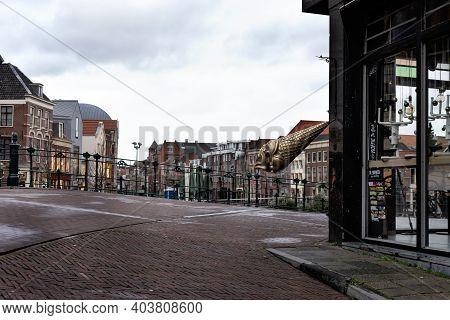 29 December 2020; Leiden; Netherlands; Storm Bella Has Hit Ireland; United Kingdom; France; Scandina