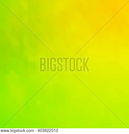 Abstract Green Blurred Background. Vector Illustration. Bright Blurred Gradient Mesh Background