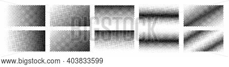 Halftone. Halftone Gradient. Dots Pattern Background. Vector Illustration