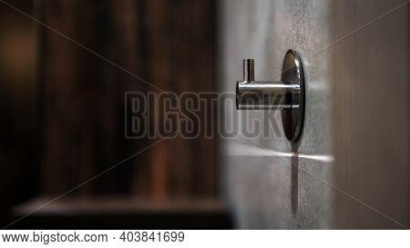 Chrome Towel Rack, Metal Hook, Chrome Towel Holder