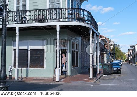 New Orleans, La - January 14: Historic Matassa's Market In The French Quarter Closes Its Doors On Ja