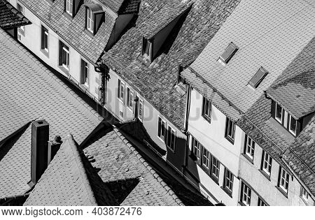 Rothenburg Ob Der Tauber, Bavaria In Germany