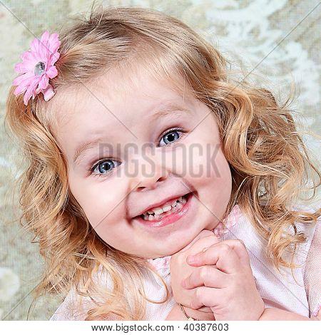 Beautiful Little Girl - Head Shot - Taken closeup