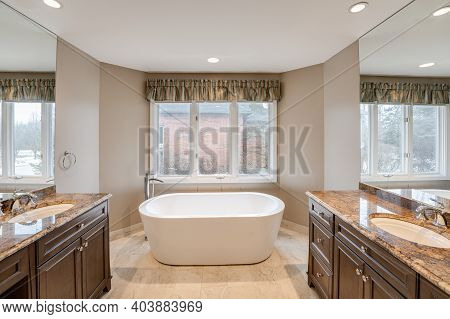 New Soaking Tub Has Been Installed During Your Bathroom Rennovations