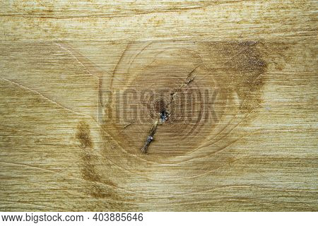 The Texture Of An Old Wooden Table