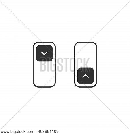 Vector Day Night Switch. Dark Mode Icon Concept. App Interface Design Concept. Dark Mode Switch Icon