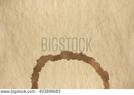 coffee stain on old paper