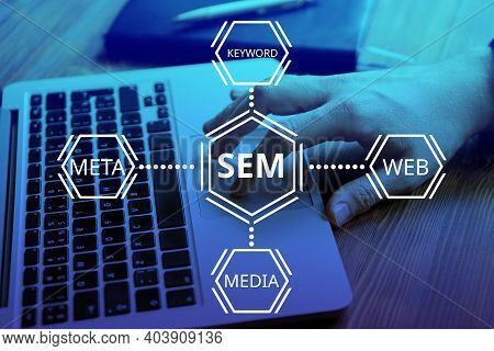 Search Engine Marketing Sem Tool For Promoting Business On The Internet.