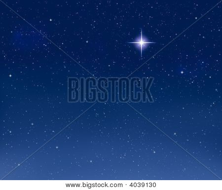 Glowing Evening Star