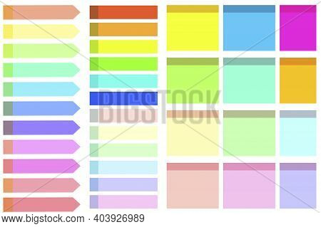 Colored Sticks. Sticky Notes For Notes. Sticky Notes For Notes. Stickers To Remember. Stock Image. E