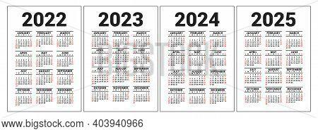 2022 2023 Pocket Calendar.Calendar 2022 2023 Vector Photo Free Trial Bigstock