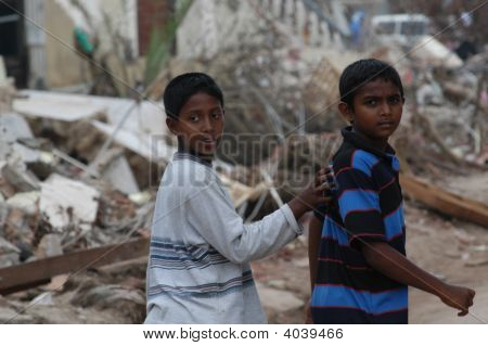 Boys After Tsunami