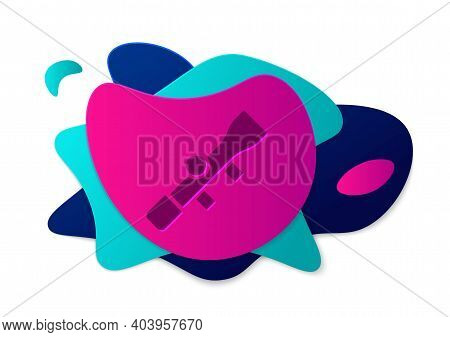 Color Sniper Optical Sight Icon Isolated On White Background. Sniper Scope Crosshairs. Abstract Bann