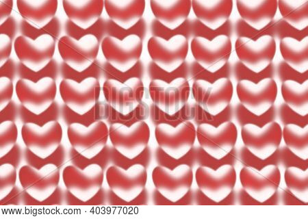 Background With Hearts. Valentine's Day Or Valentine's Day, The Most Romantic Holiday Is Celebrated
