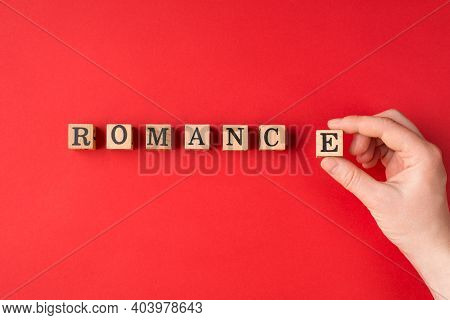 Waiting For Romance And Romantic Relationship Concept. Cropped Close Up View Photo Of Girl Hand Hold