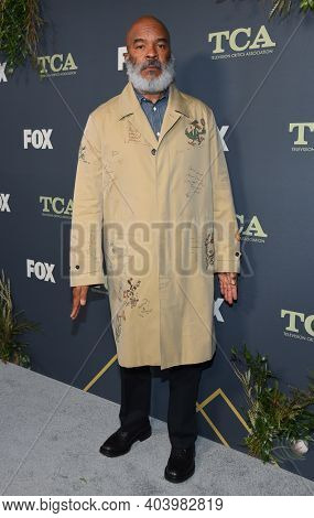 LOS ANGELES - FEB 06:  Actor David Alan Grier arrives for FOX Winter TCA 2019 on February 06, 2019 in Los Angeles, CA