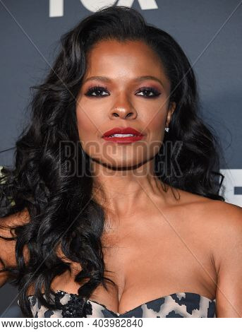 LOS ANGELES - FEB 06:  Actress Keesha Sharp arrives for FOX Winter TCA 2019 on February 06, 2019 in Los Angeles, CA