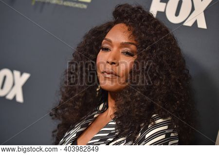 LOS ANGELES - FEB 06:  Actress Angela Bassett arrives for FOX Winter TCA 2019 on February 06, 2019 in Los Angeles, CA
