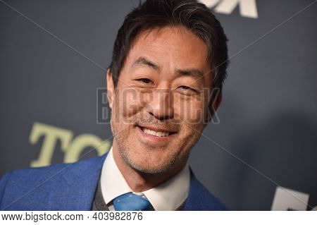 LOS ANGELES - FEB 06:  Actor Kenneth Choi arrives for FOX Winter TCA 2019 on February 06, 2019 in Los Angeles, CA
