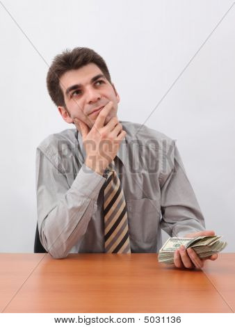 Businessman Planning A Investment