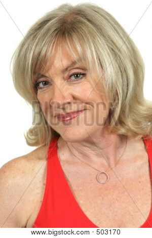 Mature Beauty - Knowing Smile