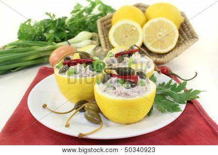 Stuffed Lemons