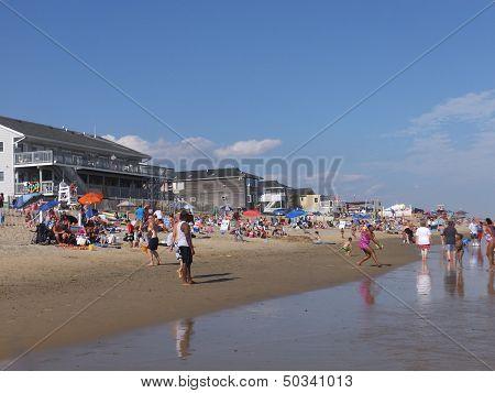 Misquamicut State Beach in Westerly, Rhode Island