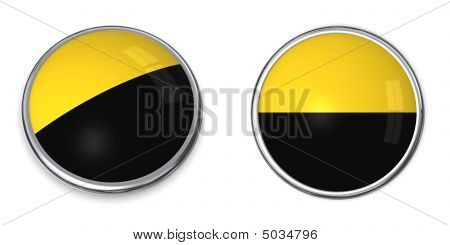 Banner Button Saxony-anhalt/germany