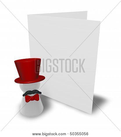 Ringmaster And Card