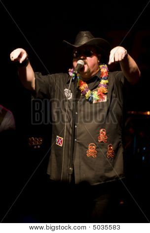 Country Rap Singer Colt Ford On Stage At The Texas Club In Baton Rouge Louisiana