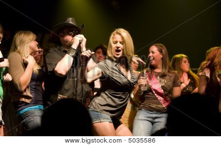 Dancing With Colt Ford At The Texas Club In Baton Rouge Louisiana