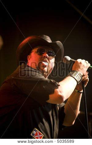 Country Rap Singer Colt Ford At The Texas Club