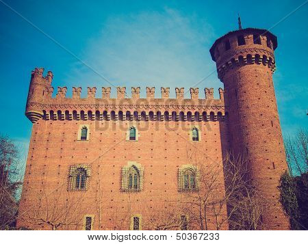 Retro Look Castello Medievale, Turin, Italy