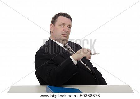 Haughty Interviewer Confusing Jobseeker