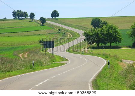 Curvaceous Country Road