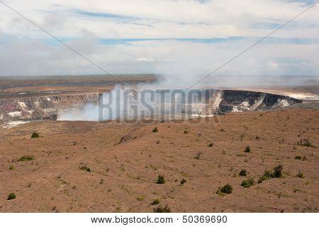 K?lauea Volcano Crater