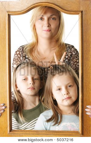 Jocular Family Portrait